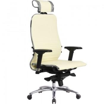 Кресло Samurai K-3.04 кожа, бежевый - оптово-розничная продажа