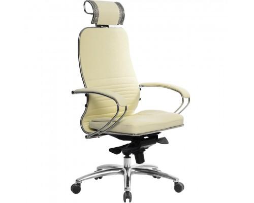 Кресло Samurai KL-2.03 кожа, бежевый