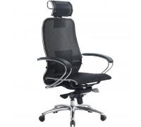 Кресло Samurai S-2.04 сетка, черный ПЛЮС