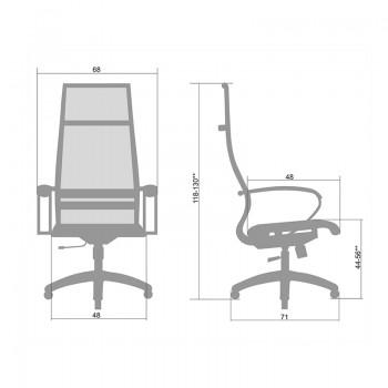 Кресло Samurai Ultra SK-1-BK 7 PL оранжевый, сетка - оптово-розничная продажа