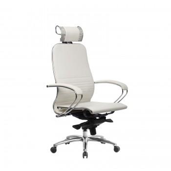 Кресло Samurai K-2.04 кожа, белый лебедь - оптово-розничная продажа