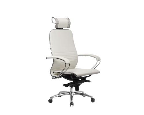 Кресло Samurai K-2.04 кожа, белый лебедь