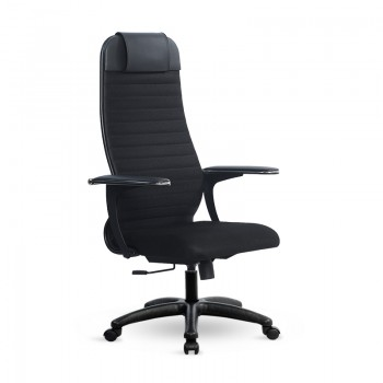 Кресло Samurai Ultra SU-1-BP 22 PL черный, ткань - оптово-розничная продажа