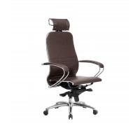 Кресло Samurai K-2.04 кожа, темно-коричневый