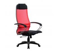 Кресло Samurai Ultra SU-1-BK 4 PL красный, сетка