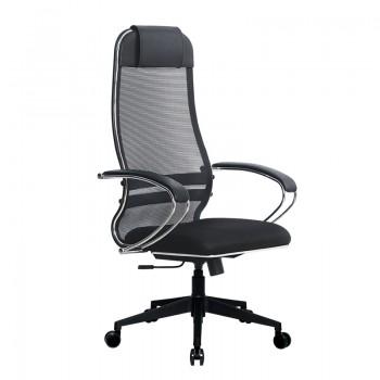 Кресло Samurai Ultra SU-1-BK 15 PL-2 черный, ткань/сетка - оптово-розничная продажа