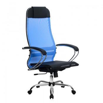 Кресло Samurai Ultra SU-1-BK 4 CH синий, сетка - оптово-розничная продажа
