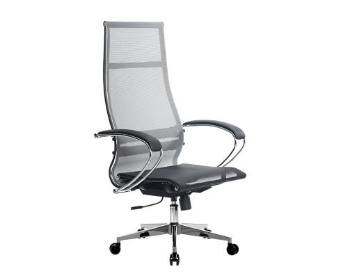 Кресло Samurai Ultra SK-1-BK 7 CH-2 серый, сетка