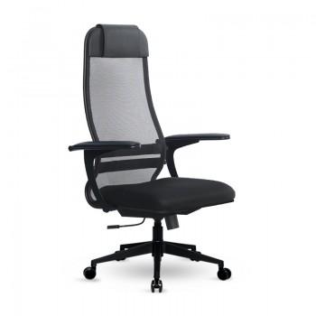 Кресло Samurai Ultra SU-1-BP 13 ткань/сетка, крестовина пластик Pl-2 - оптово-розничная продажа