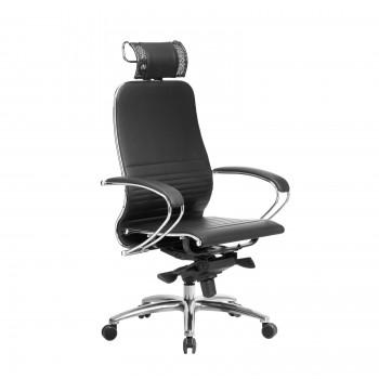 Кресло Samurai K-2.04 кожа, черный - оптово-розничная продажа