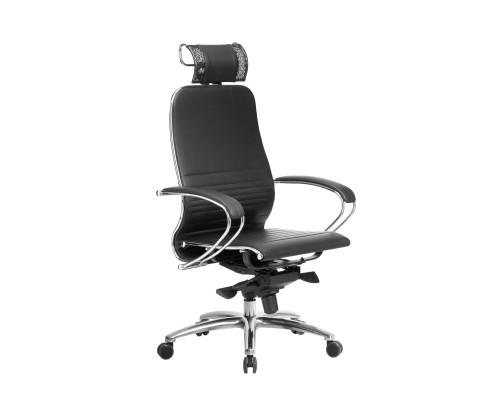 Кресло Samurai K-2.04 кожа, черный