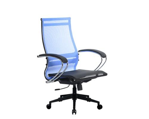 Кресло Samurai Ultra SK-2-BK 9 PL-2 синий, сетка