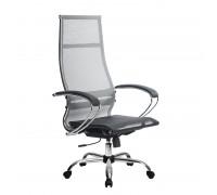 Кресло Samurai Ultra SK-1-BK 7 CH серый, сетка