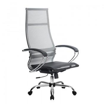 Кресло Samurai Ultra SK-1-BK 7 CH серый, сетка - оптово-розничная продажа