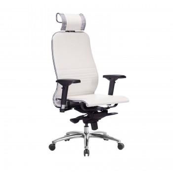 Кресло Samurai K-3.04 кожа, белый лебедь - оптово-розничная продажа