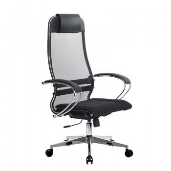 Кресло Samurai Ultra SU-1-BK 3 CH-2 черный, ткань/сетка - оптово-розничная продажа
