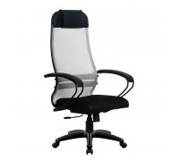 Кресло Samurai Ultra SU-1-BP 11 светло-серый, сетка/ткань, крестовина пластик Pl