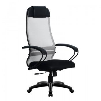 Кресло Samurai Ultra SU-1-BP 11 светло-серый, сетка/ткань, крестовина пластик Pl - оптово-розничная продажа