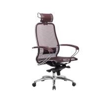 Кресло Samurai S-2.04 сетка, темно-бордовый