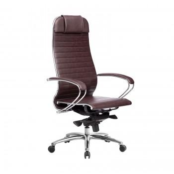 Кресло Samurai K-1.04 кожа, темно-бордовый - оптово-розничная продажа