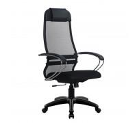 Кресло Samurai Ultra SU-1-BK 18 темно-серый, сетка/ткань, крестовина пластик Pl
