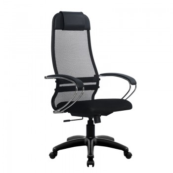 Кресло Samurai Ultra SU-1-BK 18 черный, сетка/ткань, крестовина пластик Pl - оптово-розничная продажа