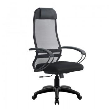 Кресло Samurai Ultra SU-1-BP 11 черный, сетка/ткань, крестовина пластик Pl - оптово-розничная продажа