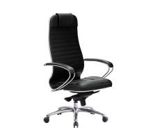 Кресло Samurai KL-1.04 кожа, черный