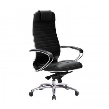 Кресло Samurai KL-1.04 кожа, черный - оптово-розничная продажа