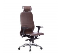 Кресло Samurai K-3.04 кожа, темно-коричневый