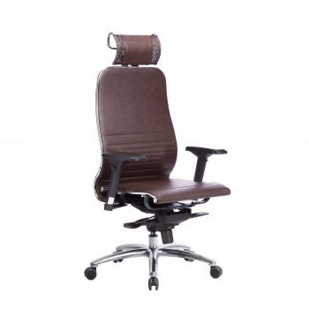 Кресло Samurai K-3.04 кожа, темно-коричневый - оптово-розничная продажа