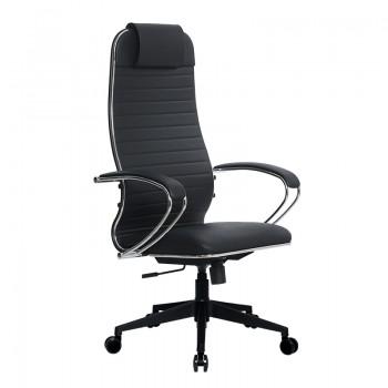 Кресло Samurai Ultra SU-1-BK 17 PL-2 черный, кожа NewLeather - оптово-розничная продажа