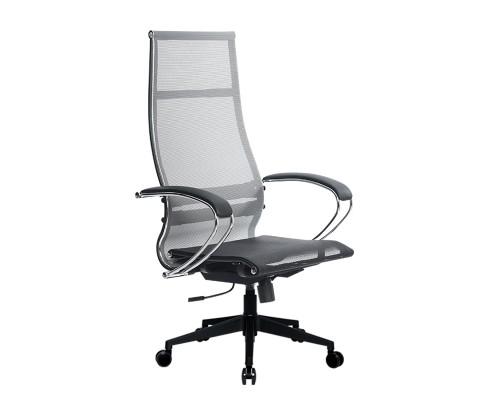 Кресло Samurai Ultra SK-1-BK 7 PL-2 серый, сетка