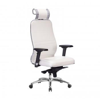 Кресло Samurai KL-3.04 кожа, белый лебедь - оптово-розничная продажа
