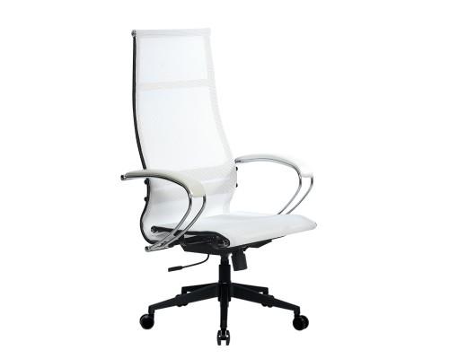 Кресло Samurai Ultra SK-1-BK 7 PL-2 белый, сетка