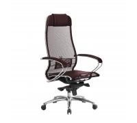 Кресло Samurai S-1.04 сетка, темно-бордовый
