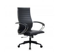 Кресло Samurai Ultra SK-2-BK 10 PL-2 черный, кожа NewLeather