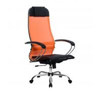 Кресло Samurai Ultra SU-1-BK 4 CH оранжевый, сетка