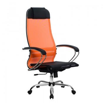 Кресло Samurai Ultra SU-1-BK 4 CH оранжевый, сетка - оптово-розничная продажа