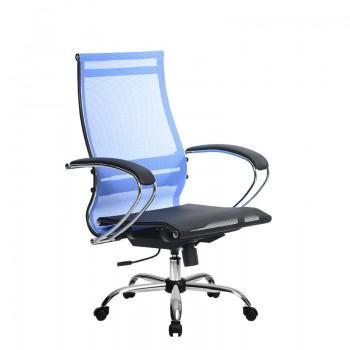 Кресло Samurai Ultra SK-2-BK 9 CH синий, сетка - оптово-розничная продажа