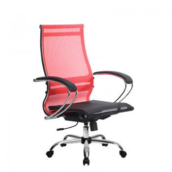 Кресло Samurai Ultra SK-2-BK 9 CH красный, сетка - оптово-розничная продажа