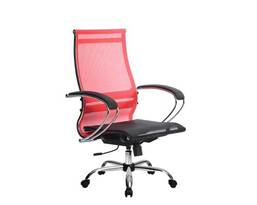 Кресло Samurai Ultra SK-2-BK 9 CH красный, сетка