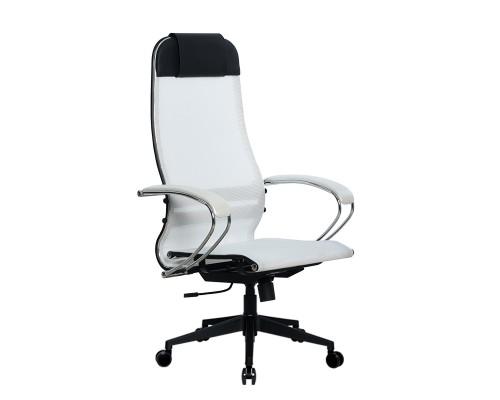 Кресло Samurai Ultra SU-1-BK 4 PL-2 белый, сетка