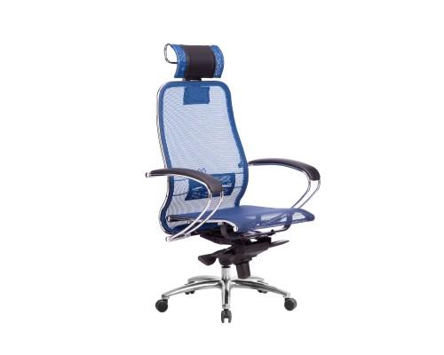 Кресло Samurai S-2.04 сетка, синий