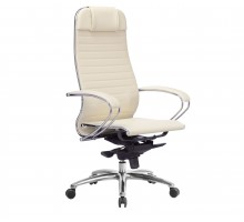 Кресло Samurai K-1.04 кожа, бежевый