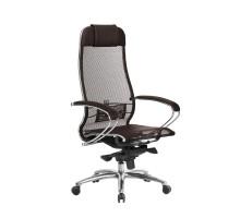 Кресло Samurai S-1.04 сетка, темно-коричневый