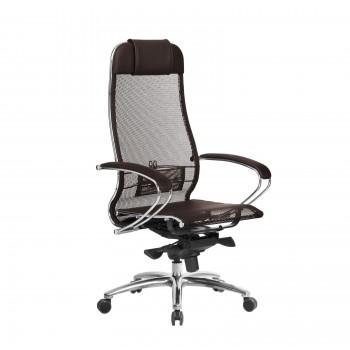 Кресло Samurai S-1.04 сетка, темно-коричневый - оптово-розничная продажа