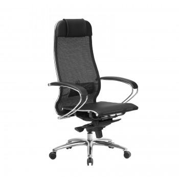 Кресло Samurai S-1.04 сетка, черный ПЛЮС - оптово-розничная продажа