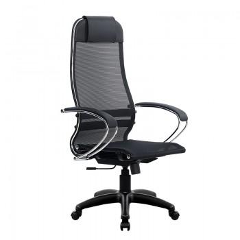 Кресло Samurai Ultra SU-1-BK 12 PL черный, сетка - оптово-розничная продажа