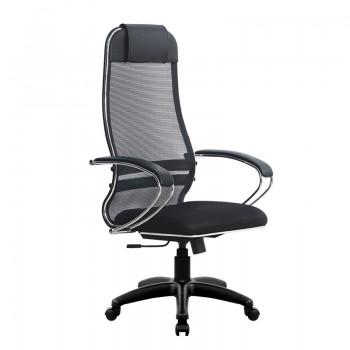 Кресло Samurai Ultra SU-1-BK 15 PL черный, ткань/сетка - оптово-розничная продажа